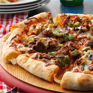 Cheese Crust Pizza Recipe
