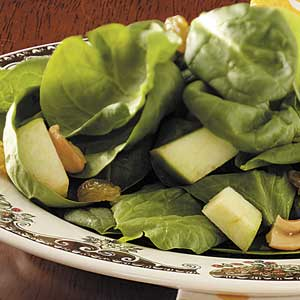 Green Apple Spinach Salad Recipe