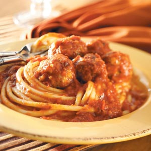 Spicy Meatballs with Sauce Recipe