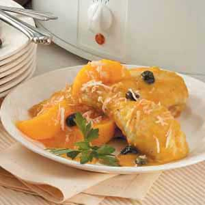 Curried Chicken with Peaches Recipe