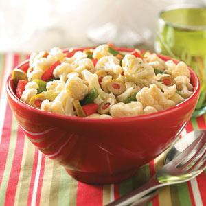 Christmas Vegetable Salad Recipe