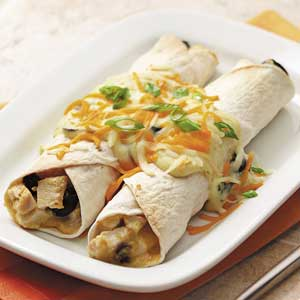 Makeover Chicken Cheese Enchiladas Recipe