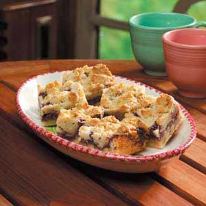 Raspberry Walnut Bars Recipe