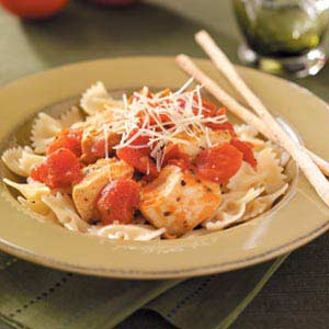 Herbed Chicken and Tomatoes Recipe
