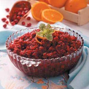 Cran-Orange Relish Recipe