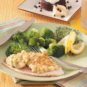 Garlic-Scented Broccoli Florets Recipe