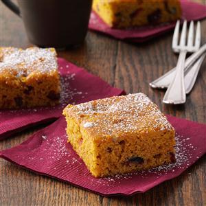 Cranberry-Pumpkin Spice Cake Recipe