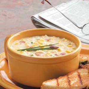 Ramen Corn Chowder