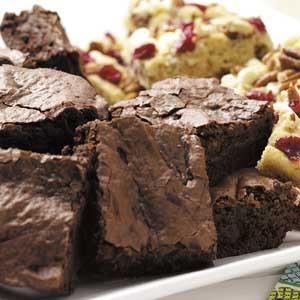 Lightened-Up Fudgy Brownies Recipe