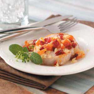 Cran-Apricot Pork Chops Recipe