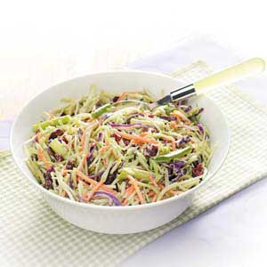 Broccoli Cranberry Slaw Recipe