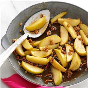 Caramel-Pecan Apple Slices Recipe