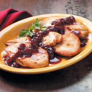 Cherry-Topped Chicken Recipe