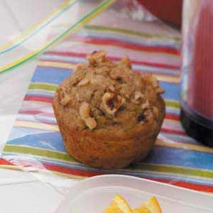 Spiced Banana Nut Muffins Recipe