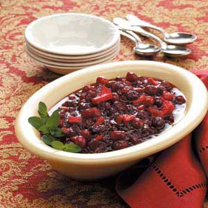 Candied Fruit Cranberry Chutney Recipe