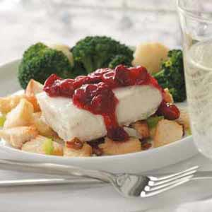 Cranberry Catch of the Day Recipe