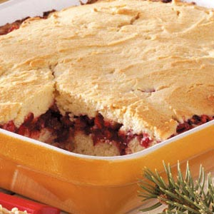 Cranberry-Sour Cream Coffee Cake Recipe
