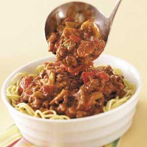 Hearty Homemade Spaghetti Sauce Recipe