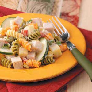 Smoked Turkey Pasta Salad