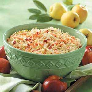 Apple 'n' Carrot Slaw Recipe