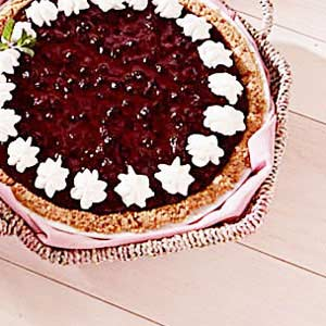 Huckleberry Cheese Pie Recipe