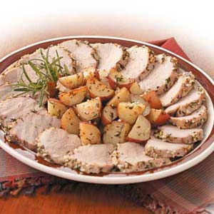 Rosemary Pork and Potatoes Recipe