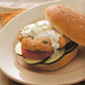 Contest-Winning Greek Turkey Burgers Recipe