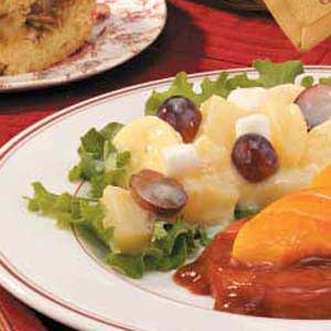 Three-Fruit and Marshmallow Salad Recipe