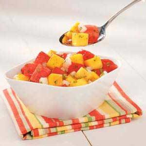 Southwestern Watermelon Salad Recipe