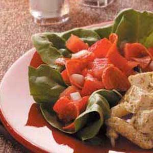 Tomato Pepperoni Salad Recipe