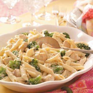 Gorgonzola Chicken Penne Recipe
