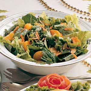 Festive Tossed Salad Recipe