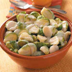 Sprouts with Water Chestnuts Recipe