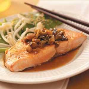 Asian Salmon Fillets Recipe