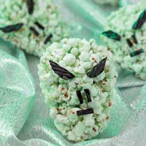 Alien Popcorn Heads Recipe