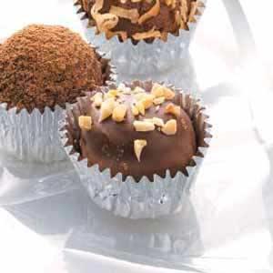 Peanut Butter Chocolate Balls Recipe