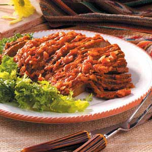 Southern Barbecued Brisket Recipe