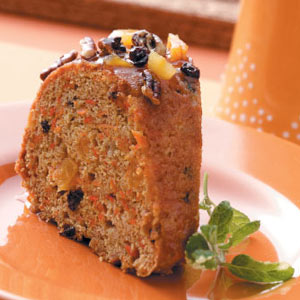 Fruit Carrot Cake Recipe