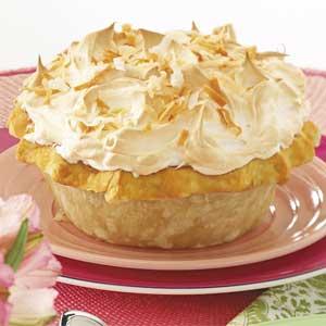 Coconut Meringue Pie Recipe