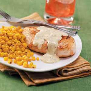 Chicken with Mustard Gravy Recipe