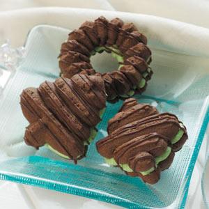 Filled Chocolate Spritz Recipe