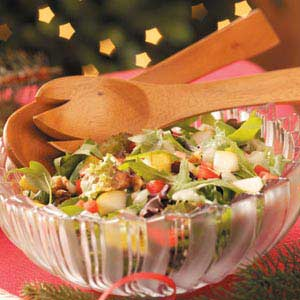 Gorgonzola Pear Salad Recipe