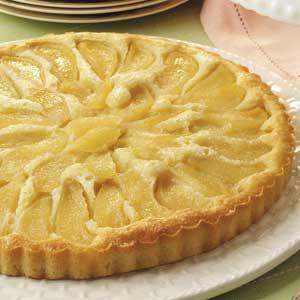 Buttery Almond Pear Cake Recipe