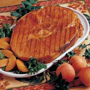 Grilled Ham Steak Recipe