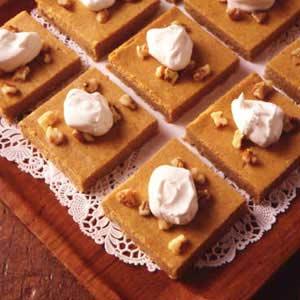 Pumpkin Cheesecake Dessert Recipe