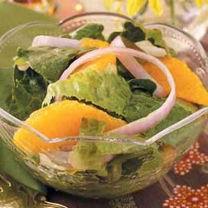Romaine with Oranges Recipe