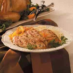 Thyme Chicken Marsala Recipe
