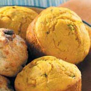 Squash Corn Muffins Recipe