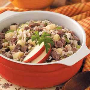 Autumn Sausage Casserole Recipe