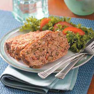 Tortilla-Salsa Meat Loaf Recipe